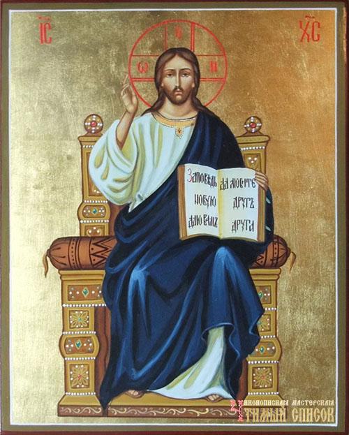 На троне