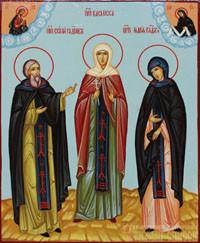 Сергий Радонежский, Василисса Египетская, Мария Радонежская