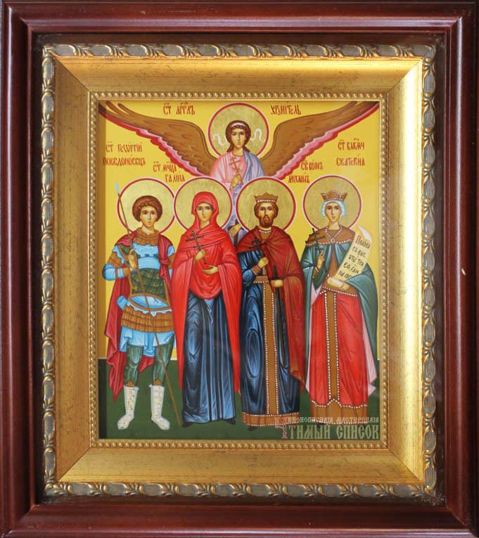 Георгий, Галина, Михаил, Екатерина