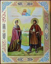 Елена Константинопольская, Михаил Мстиславич