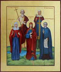 Валентина, Андрей, Анна, Мария, Сергий