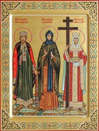 Владимир равноапостольный князь, Мария Радонежская, Елена Константинопольская