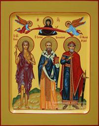 Мария Египетская, Евгений Херсонесский, Владимир равноапостольный князь