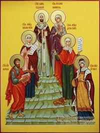 Иоанн, Галина, Ольга, Наталия, Дария, Матфей