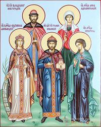 Екатерина, Владимир, Роман, Кристина, Анна