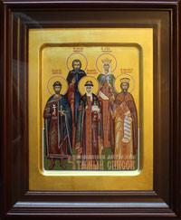 Георгий, Сергий, Людмила, Ольга, Владимир