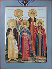 Григорий, Илия, Роман, Ольга, Елена