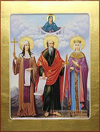 Нина просветительница Грузии, Павел апостол, Александра Римская